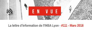 La lettre d'information de l'INSA Lyon à parution mensuelle