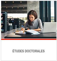 Toutes les infos sur les études doctorales