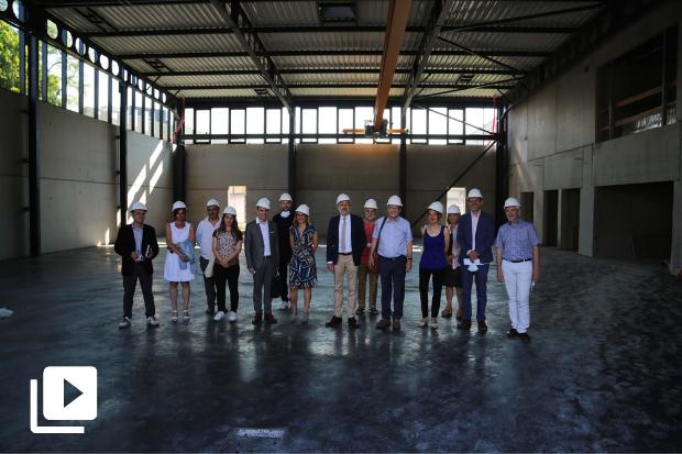 Visite de la Métropole à l'INSA Lyon