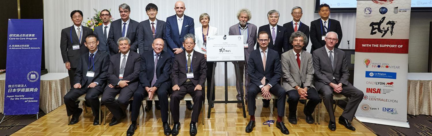 Opening Ceremony ElytMax, French-Japanese laboratory to study materials under extreme conditions