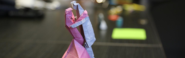 Origami : un spécialiste INSA conférencier à Oxford