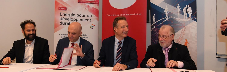 Lancement de la chaire Compagnie Nationale du Rhône
