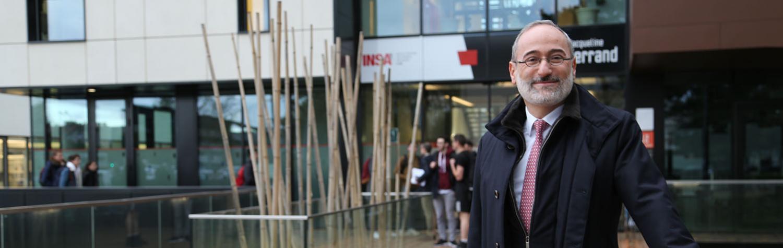 Un nouveau directeur pour l'INSA Lyon : Frédéric Fotiadu